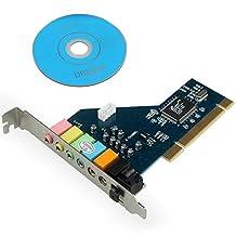 PCI 8 Channel 8CH 7.1 Surround 3D Sound Audio Card CMI8768 Chipset