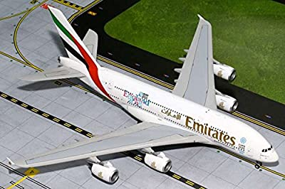 "Gemini200 Emirates A380 ""England Rugby World Cup"" Airplane Model (1:200 Scale)"