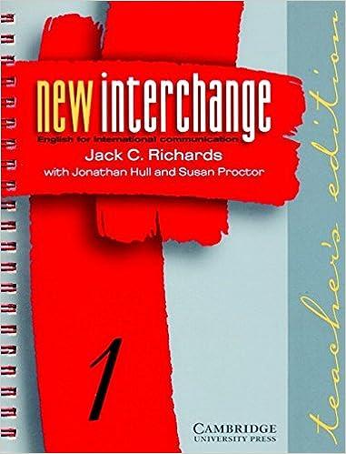 Amazon new interchange teachers edition 1 english for new interchange teachers edition 1 english for international communication teachers guide edition fandeluxe Gallery