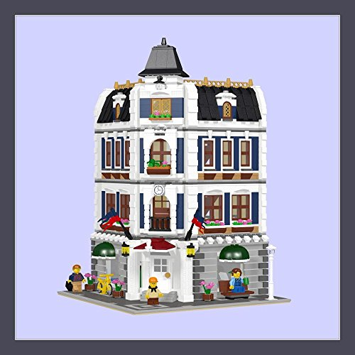 Lego Modular Coffee Shop Library Instructions Only 10182 10185