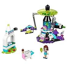 LEGO Friends 41128 Amusement Park Space Ride Building Kit (195-Piece)