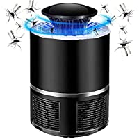 USB LED UV Electronic repelente de mosquitos,lampara mosquitos trampas para,100% Seguro para Niños o Mujeres Embarazadas,para Hogar Cocina Dormitorio Jardín Patio