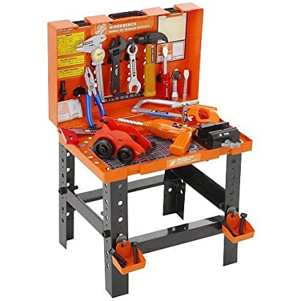 Outstanding Amazon Com Home Depot The Carrying Case Workbench Toys Games Beatyapartments Chair Design Images Beatyapartmentscom