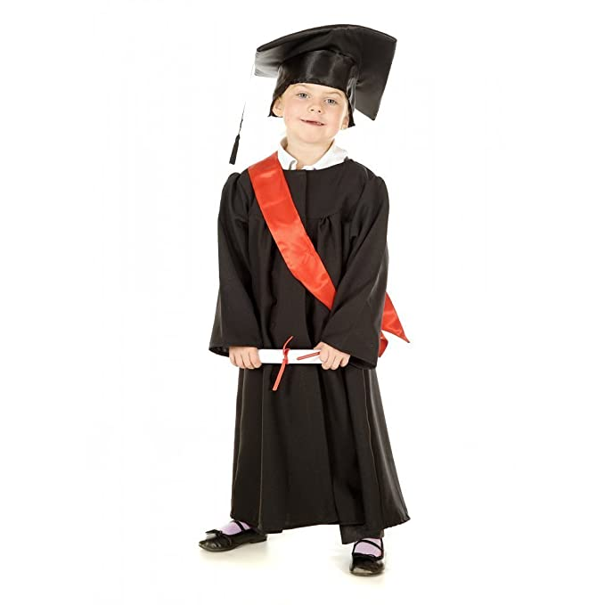 Graduation Gown - Kids Costume 3 - 5 years: Amazon.ca: Clothing ...