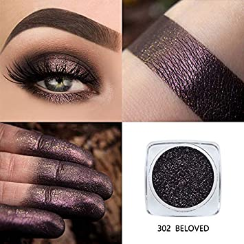 Phoera Glitter Eyeshadow Powder Women 12 Colors Diamond Lips Loose Eyes Highly Pigment Shimmering Metallic Cosmetic Professional Beauty & Health