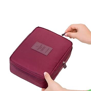 6b60a1d7fd57 Amazon.com   Futemo Women Girls Travel Cosmetic Bag