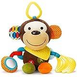 SKIP HOP Bandana伙伴,软质活动玩具,猴子 (美国顺丰包税直邮)