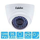Faittoo HD 1200TVL CCTV Security Indoor Dome Camera - Best Reviews Guide