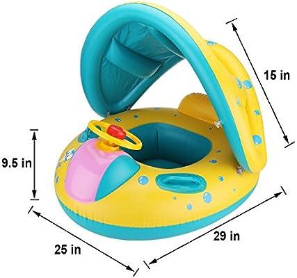 Amazon.com: R? HORSE - Flotador hinchable para piscina de ...