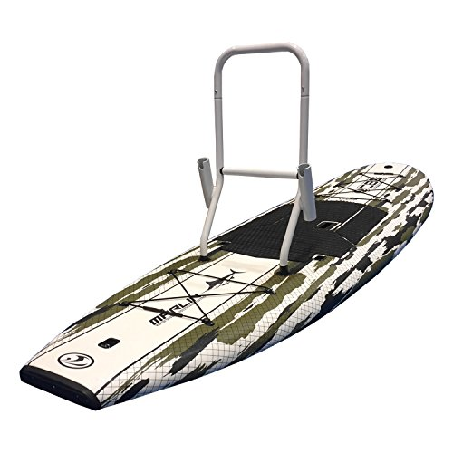 California Board Company CBC 10' Marlin Foam Fishing SUP with Rod & Gear Rack, Camouflage