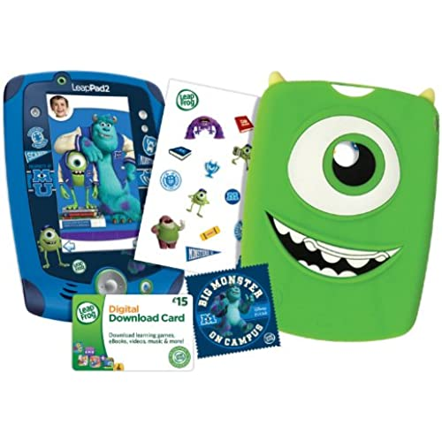 LeapFrog LeapPad2 Disney/Pixar Monsters University Varsity Edition Bundle, Green Coupons