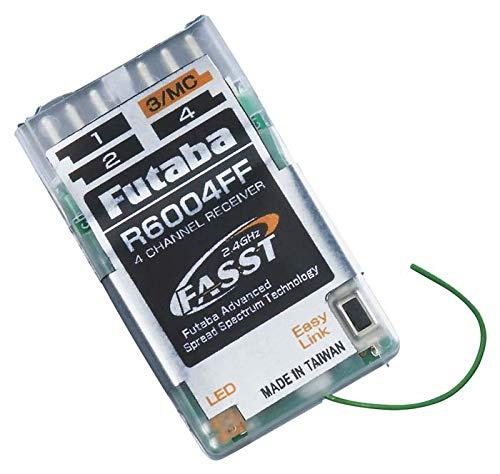 Futaba R6004FF 2.4G FASST AIR RX 4 Channel Receiver