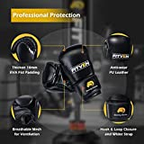 FITVEN Freestanding Punching Bag 70''-205lbs with