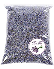 TooGet Fragante Flores Secas de Lavanda, Natural Brotes Secos de Lavanda, 100% Puro Lavanda Seca, Grado Superior - 445g