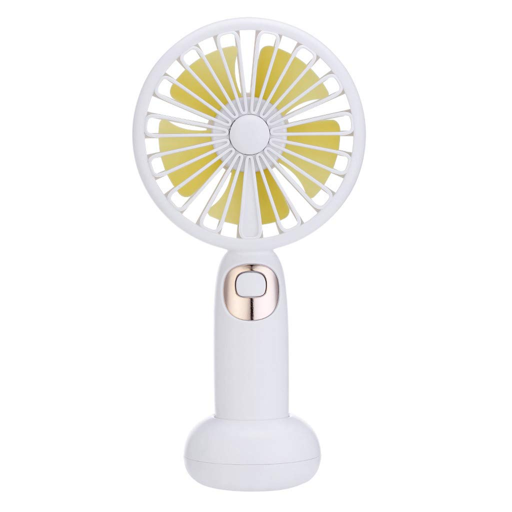 Jonerytime❤️New Mini Portable USB Rechargeable Sweet Blossoming Bluetooth Music Fan