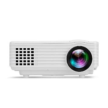YIZHANGProyector WiFi Mini Mini LED Home Projector Mini HD 1080 HD ...