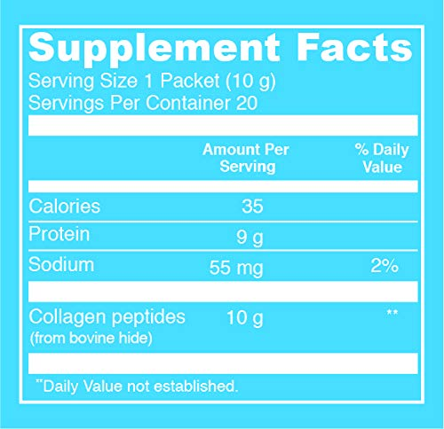 Vital Proteins Collagen Powder Stick Packs - 20ct - Hydrolyzed Collagen on The go, Dairy Free, Gluten Free by Vital Proteins (Image #7)