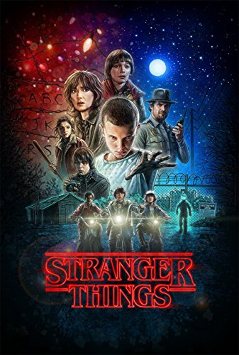 Stranger Things Television Movie Poster Limited Print Photo