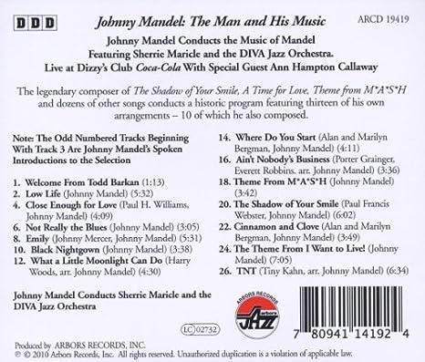 THE MAN AND HIS MUSIC: JOHNNY MANDEL: Amazon.es: Música