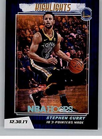 217adb4e42561 Amazon.com: 2018-19 NBA Hoops Highlights #5 Stephen Curry Golden ...