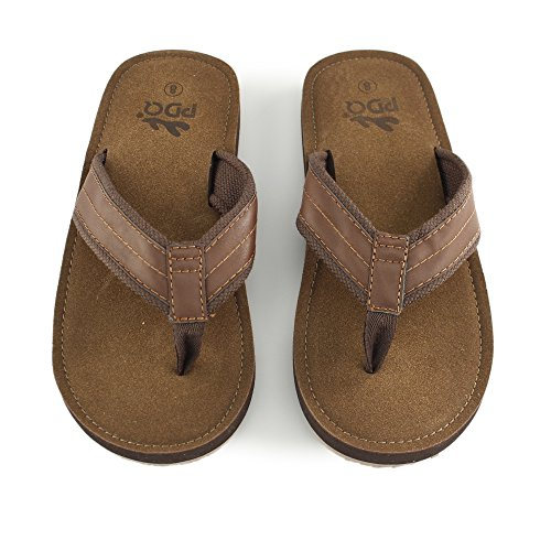 Mule Light Brown Super Flip Brown Mens Horse Flop Sandal Crazy FRqwnA