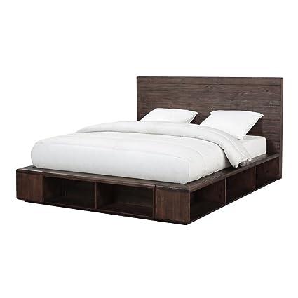 Amazon Com Modus Furniture Akk1f7 Mckinney King Size Espresso Pine
