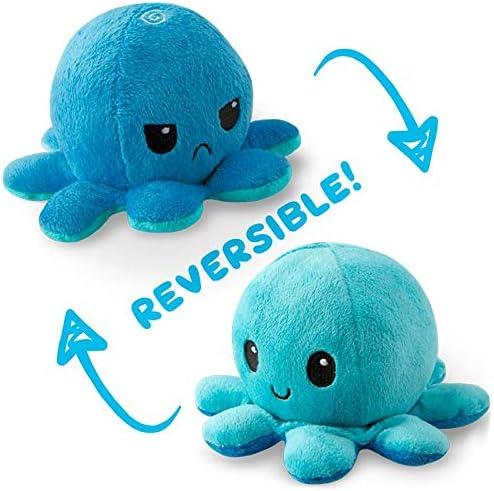TeeTurtle Reversible Octopus Mini Plush product image