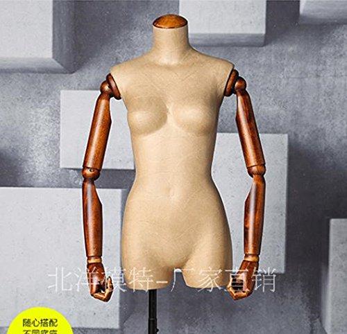 BEIYANG Female Mannequin Torso Dress Form Display Stand Designer Pattern (Torso) by BEIYANG
