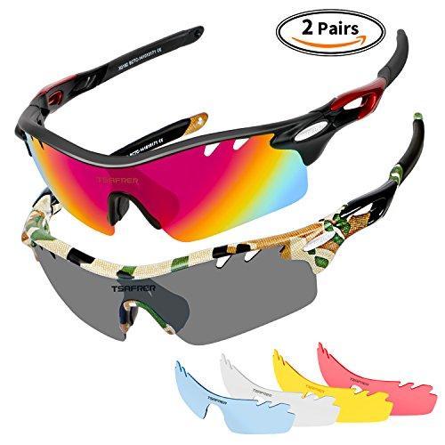 Polarized Sunglasses Cycling Running Baseball