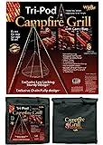 Wilcor Campfire Tri-Pod Grill