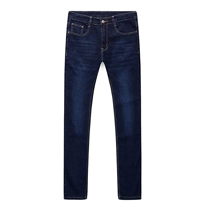 Huixin Pantalones Vaqueros Elásticos De Los Hombres ...