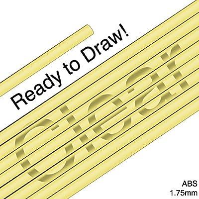 3D Pen Filament ABS 1.75mm - Clear Yellow