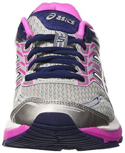 Asics Gt-2000 5, Zapatillas de Running para Mujer Gris (Midgrey/White/Pink Glow)