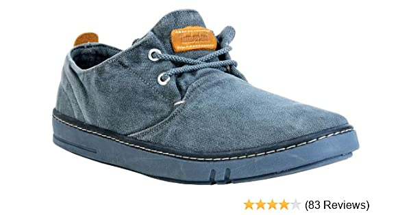 Timberland EK Hookset Handcrafted O Flat (Big Kid),Dark Blue Denim,3.5 M US Big Kid