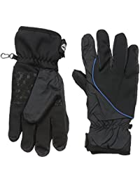 Men's Soft Shell Glove Printed Logo with Touchscreen Technology
