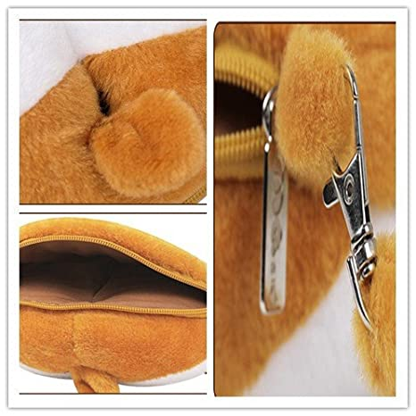 Coin Purses Coin Purses & Holders Jhd Cute 3d Corgi Butt Shape Coin Purse Shiba Ass Bum Wallet Zipper Change Case 1 Pcs Complete In Specifications