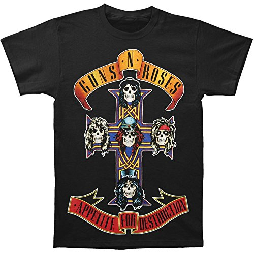 Guns N Roses- Appetite For Destruction Jumbo T-Shirt Size M Gun Tee
