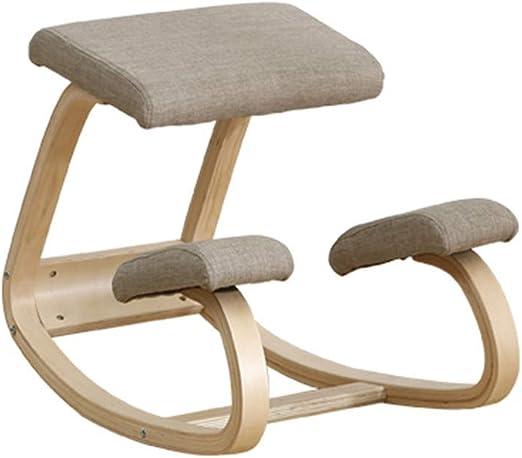 silla ergonomica madera