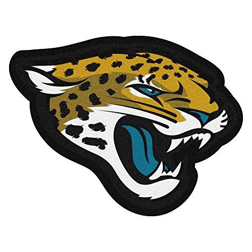 FANMATS 20973 Team Color 3' x 4' NFL - Jacksonville Jaguars Mascot Mat