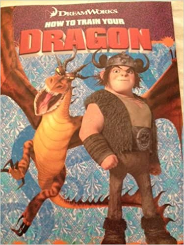 How To Train Your Dragon Coloring Book Dreamworks Animation Amazon Books