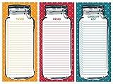 Mason Jar Notepad Set