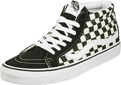 Vans Sk8-Mid Reissue Checkerboard/True White VN0A391FQXH Mens Size 8, Womens 9.5