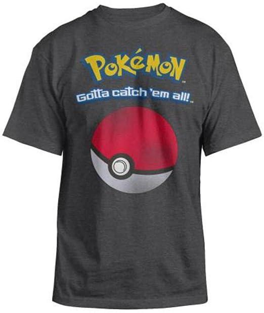 1cb964c3 Hybrid Pokemon - Catch 'Em All Adult T-Shirt | Amazon.com