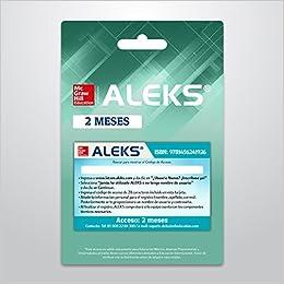 Aleks K-12 (Código de acceso para 2 meses): Varios Autores