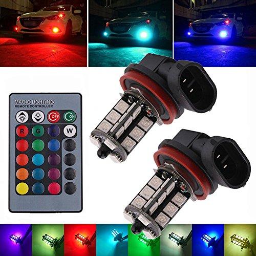 7 color fog lights with remote - 8