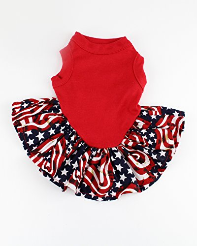 4th of july dog dress - 1