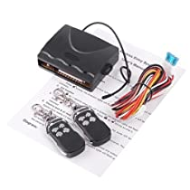 Docooler Car Remote Central Lock Locking Keyless Entry System with Remote Controllers