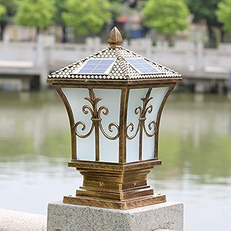 YZL/ Pillar Lamp/solar Energy Solar Power Outdoor Garden Light/post Lights/
