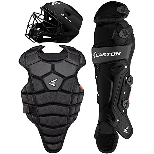 *Easton M5 Boxed Sets A165343BKBK M5 QWIK FIT CATCHERS SET JR YTH BKBK
