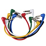 BQLZR 1 Set Effect Pedal Colorful Cables for Pedal Connecting